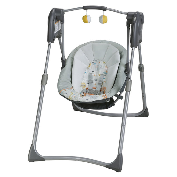 Graco Slim Spaces Compact Baby Swing - Linus