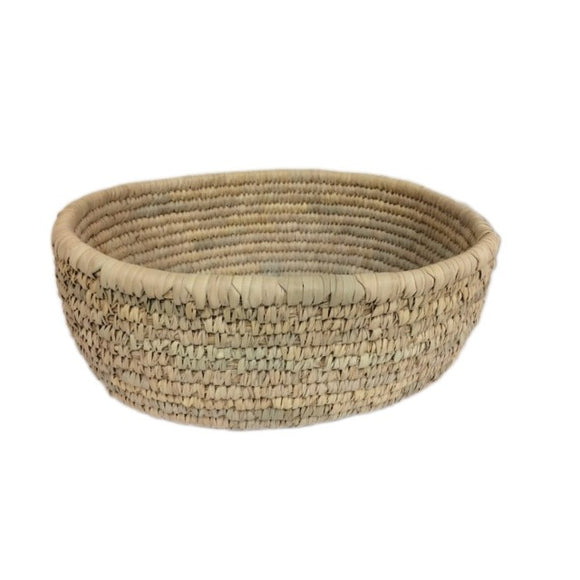 Large Organic Palm Frond Basket