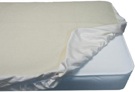 Naturepedic Organic Cotton Waterproof Crib Pad - Fitted