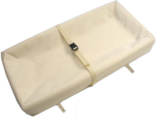 Naturepedic Organic Changing Table Pad - 4 Sided Contoured
