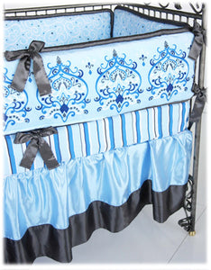 Caden Lane Luxe Parker 4 Piece Crib Set