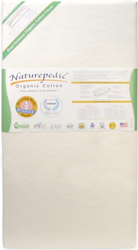 No-Compromise Organic Classic 150 Seamless 2-Stage Crib Mattress