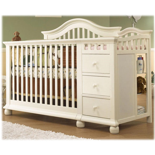 Cape Cod 4 in 1 Convertible Crib w/ Changer