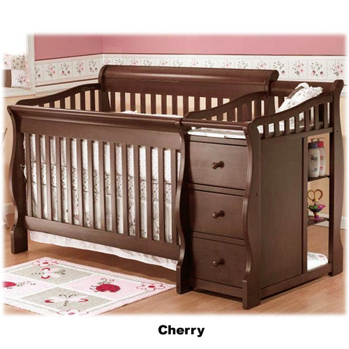 Tuscany 4 in 1 Convertible Crib w/ Changer