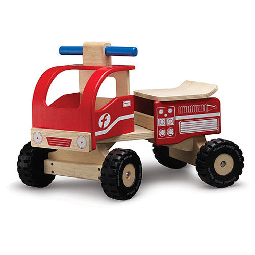 Wonderworld Ride-On Fire Engine