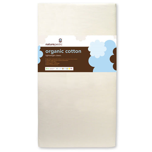 No-Compromise Lightweight Organic Cotton Classic Crib Mattress