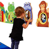 Animal Friends Wall Mirrors (Set of 4)