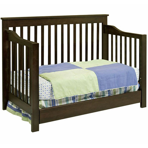 Piedmont 4-in-1 Convertible Crib with Toddler Rail