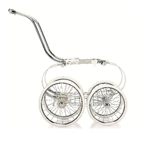 Classica Balestrino Frame with Basket - White