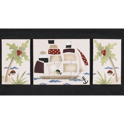 Cotton Tale Pirates Cove Wall Art