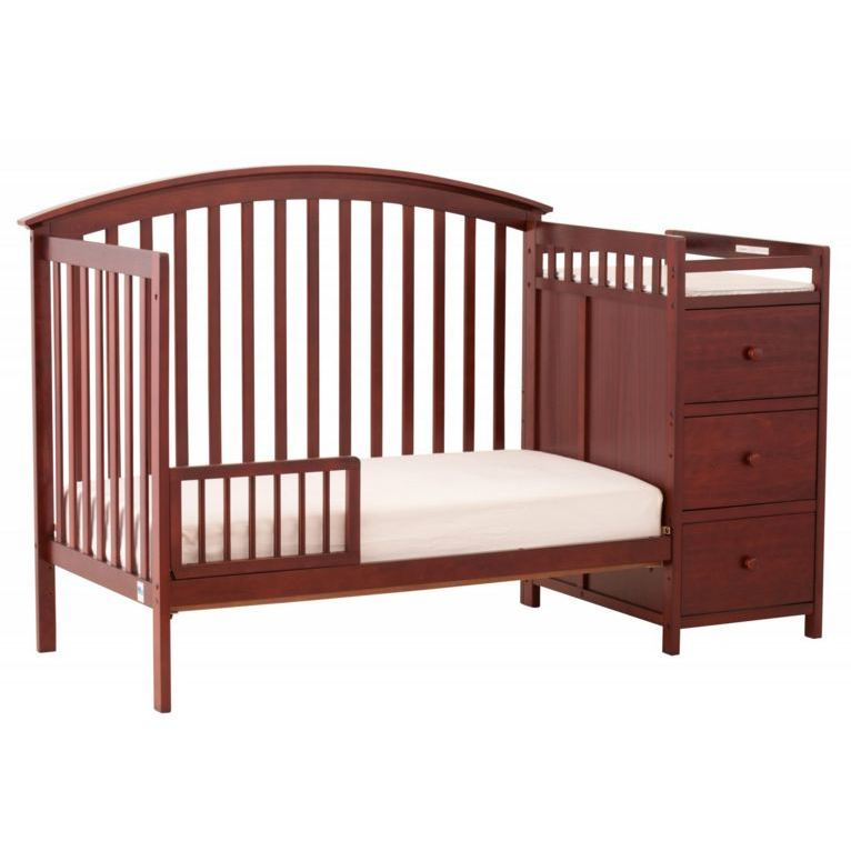 Attrayant ... Bradford Stages 4 In 1 Fixed Side Crib With Changer ...