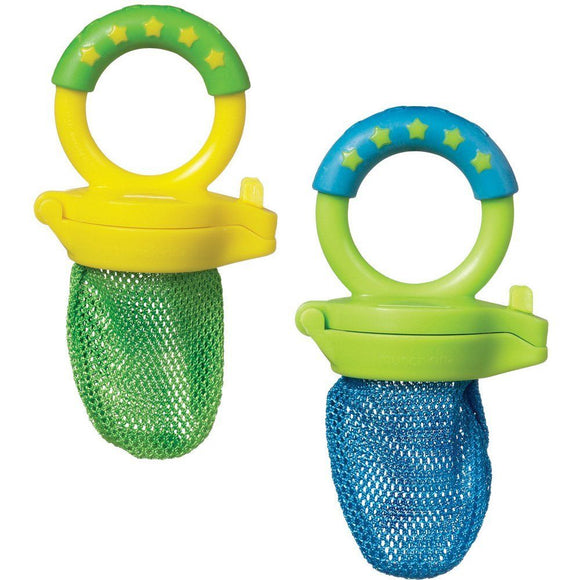 Munchkin Fresh Food Feeders, 2pk - Assorted Colors