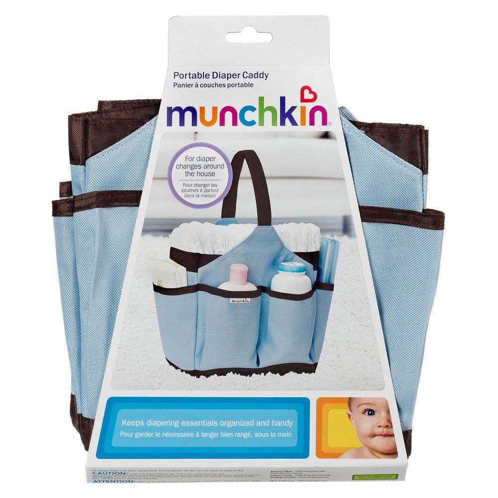 Munchkin Portable Diaper Caddy - Assorted Colors
