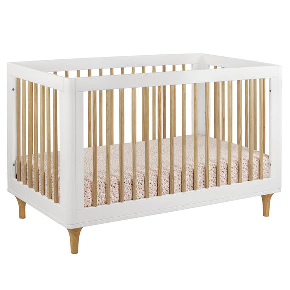 Lolly 3-in-1 Convertible Crib with Toddler Bed Conversion Kit
