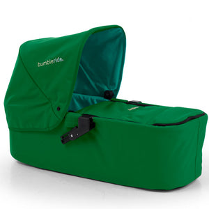 (Open Box) BumbleRide Indie Carrycot - Green Papyrus