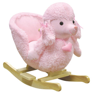 Mitzi Poodle Rocking Chair