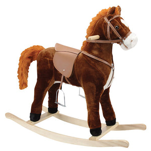 Hercules Large Rocking Horse (Moving Mouth & Tail)