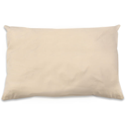 Organic Cotton/Kapok Pillow - Standard Size Low Fill