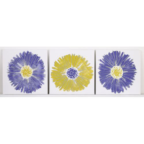Periwinkle Wall Art (3 pc)