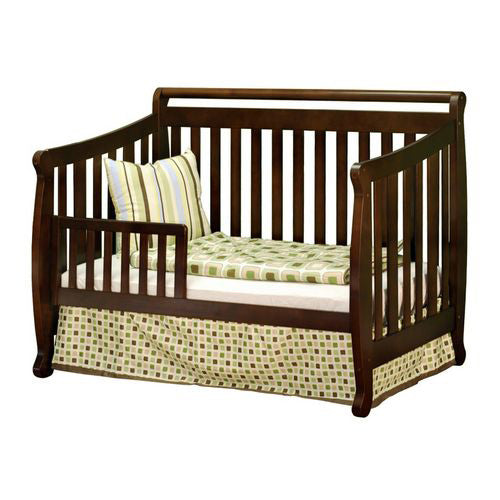 Amy Convertible Crib w/ Toddler Rail