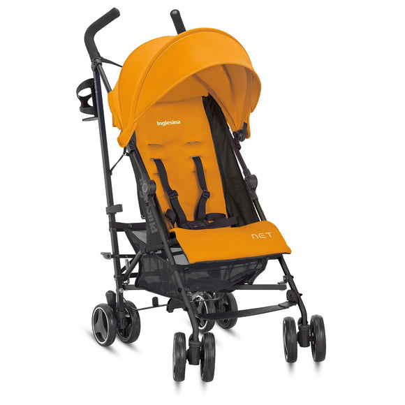 (Open Box) Inglesina Net Stroller - Zenzero (Orange)