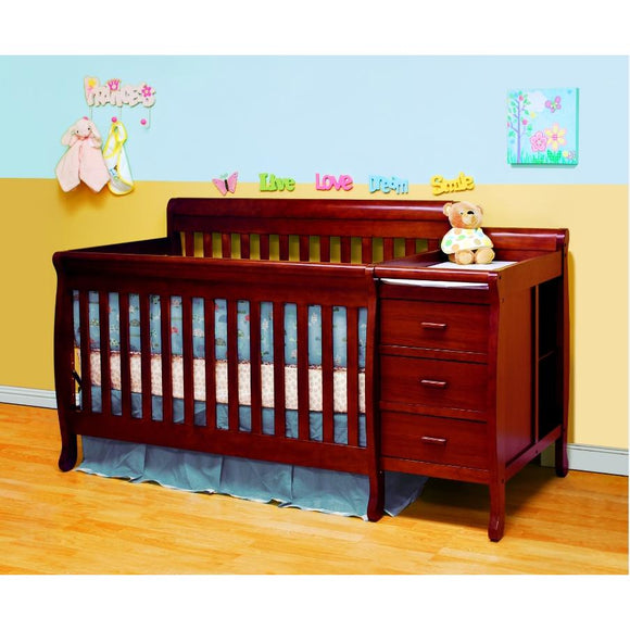 Eve Convertible Crib n Changer