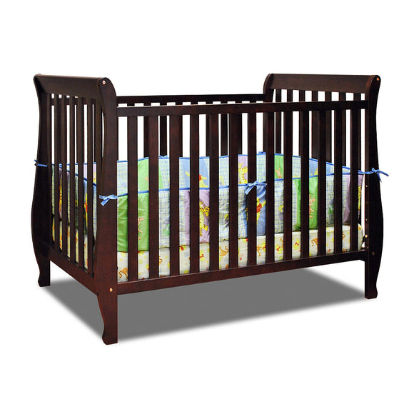 Hannah 4-in-1 Convertible Crib with Toddler Rail