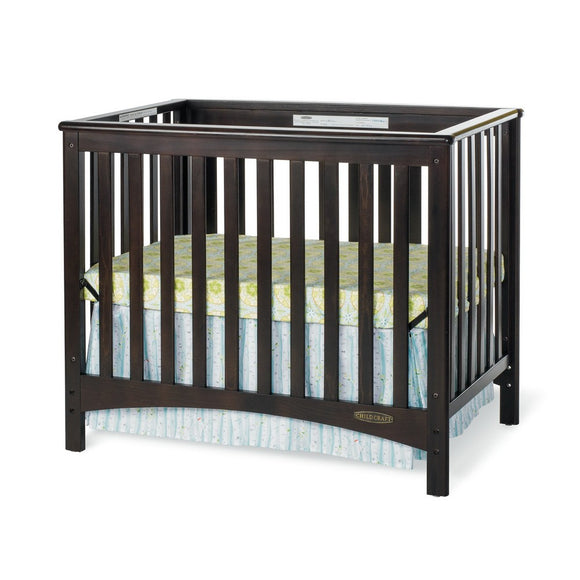 London Euro Mini Convertible Crib w/ 3
