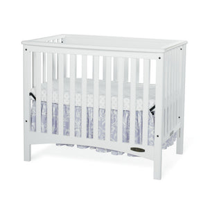 "London Euro Mini Convertible Crib w/ 3"" Mattress"