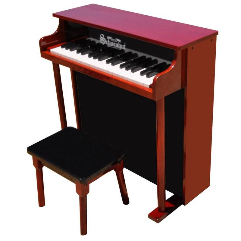 37-Key Traditional Deluxe Spinet Piano