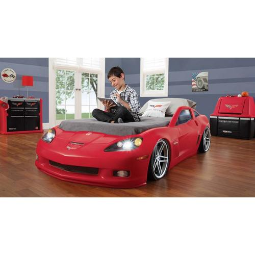 Corvette Toddler to Twin Bed w/ Lights