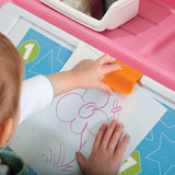 2-in-1 Toy Box & Art Lid