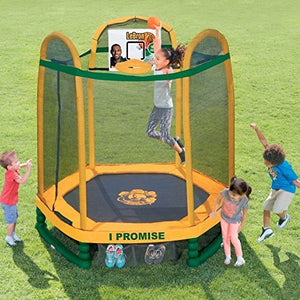 Little Tikes LeBron James Family Foundation Dream Big 7 Foot Trampoline