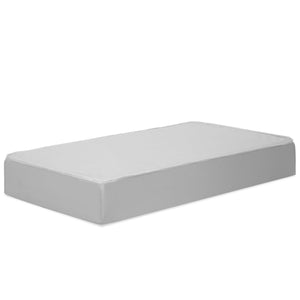 Complete Mattress with Non Toxic Hypoallergenic Waterproof Cover - White
