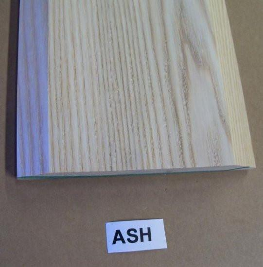 "Style A- ASH -3/4""  Height Solid Hardwood Interior Threshold -HBP"