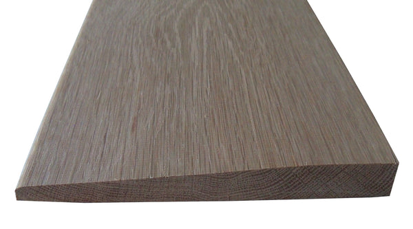 Style D – WHITE  OAK-  Solid Hardwood Interior Threshold- HBP