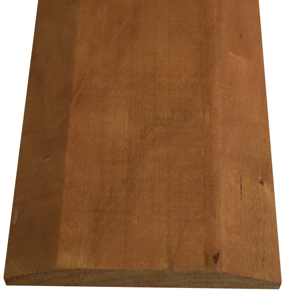 "Style A- CHERRY -3/4""  Height Solid Hardwood Interior Threshold -HBP"
