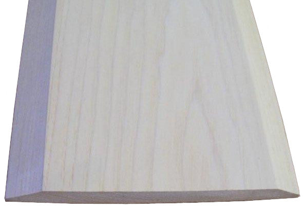 "Style A- HICKORY-  3/4""  Height Solid Hardwood Interior Threshold -HBP"