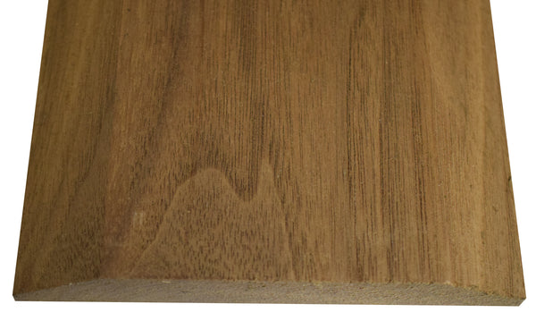 "Style A- WALNUT -3/4""  Height Solid Hardwood Interior Threshold -HBP"