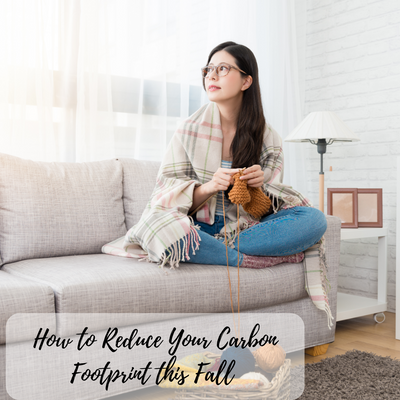HOW TO REDUCE YOUR CARBON FOOTPRINT THIS FALL