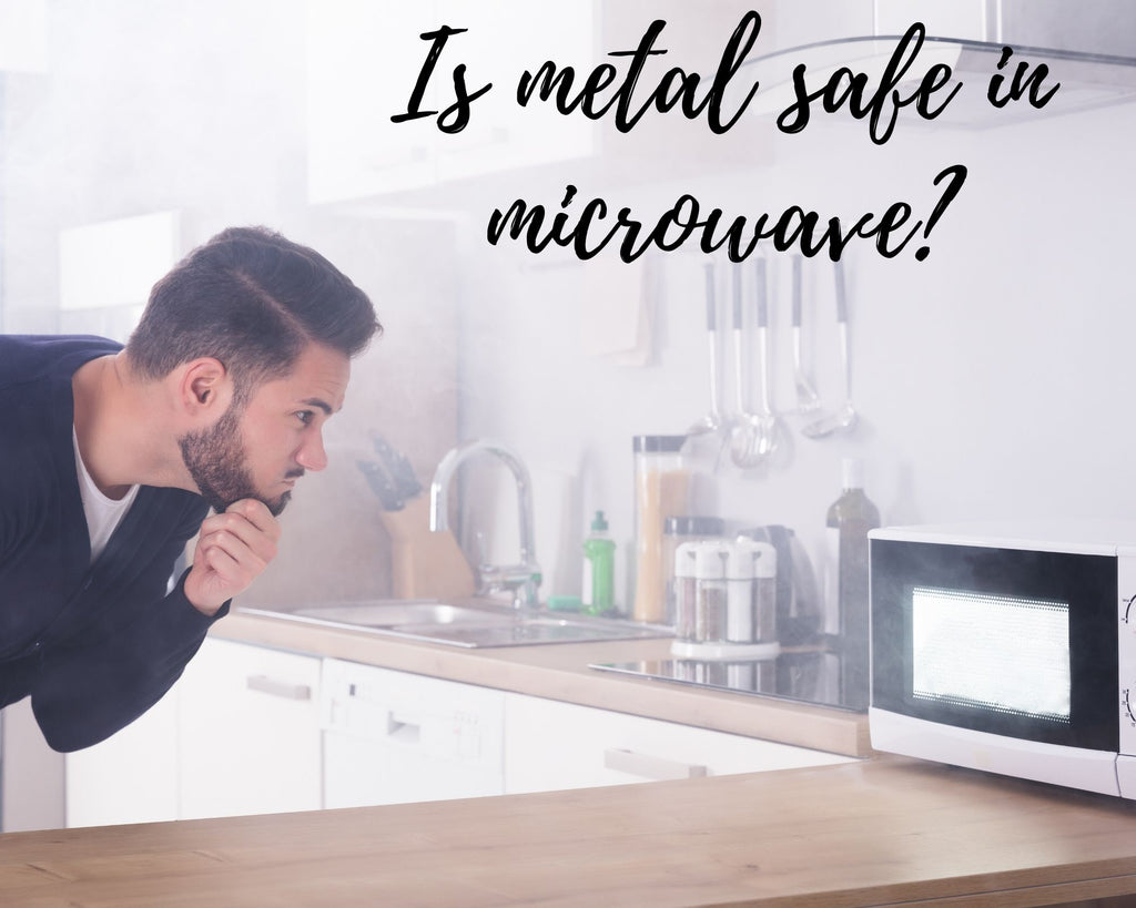 CAN METAL GO IN THE MICROWAVE? BETTER OPTIONS AVAILABLE