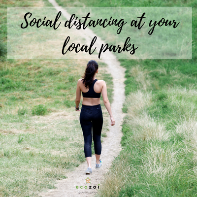 SOCIAL DISTANCING WHILE VISITING YOUR LOCAL PARK