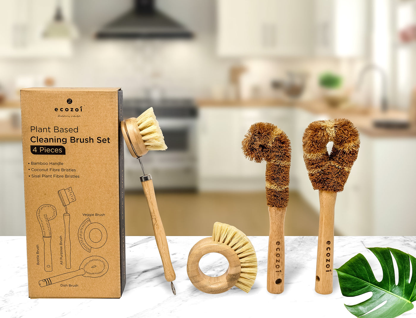 Eco Cleaning Brushes