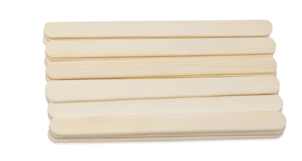 30 Reusable Bamboo Sticks - for Ecozoi Flat and Round Popsicle Molds