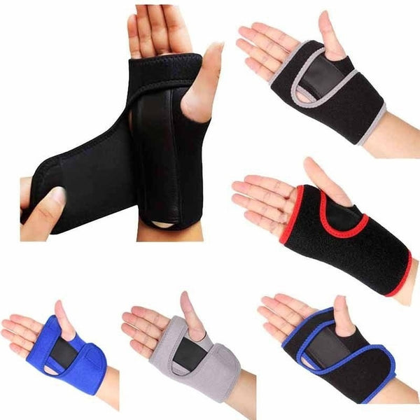 Outdoor Sport Adult Splint Sprains Arthritis Band Belt Carpal Tunnel Hand Wrist Support