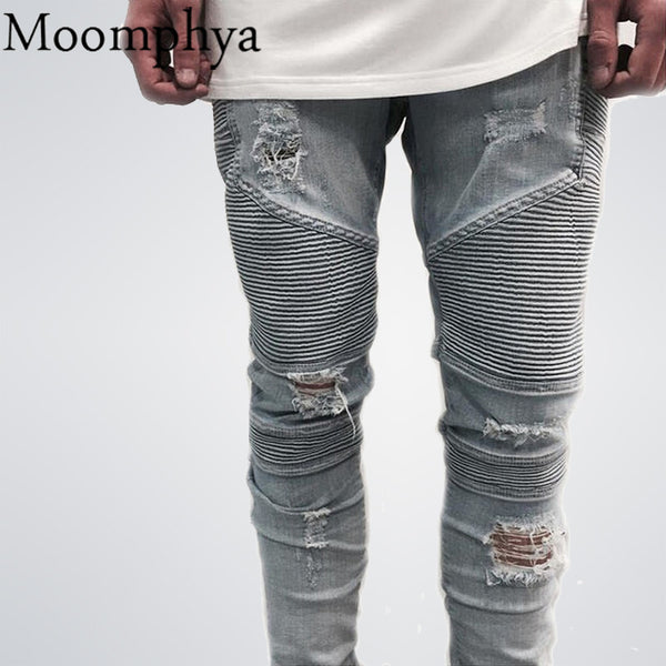 Hip-Hop Men Jeans