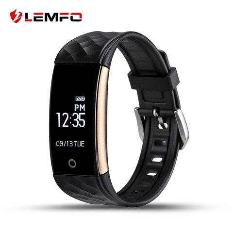 S2 Bluetooth Smart Band Wristband Heart Rate Monitor IP67 Waterproof