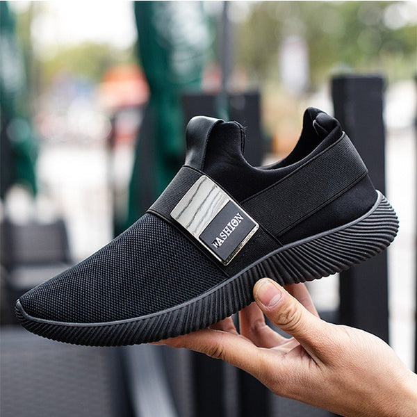 Hot Sale ! New Men's Shoe Trend Korean Version of The Low To Help Sports Shoes Male Students Running Fashion Leisure Lazy Shoes