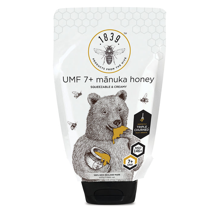 Squeezable UMF 7+ Mānuka Honey