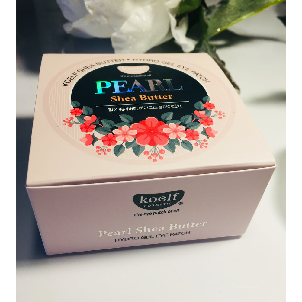 Koelf Pearl and Shea Butter Hydrogel Eye Patches